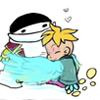 chibifirebird: artist: Nire-chan on Devart, pwnyta on tumblr (hybrid I love my Papa you don't even kno)