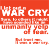 harrydresden: (war cry (eep))