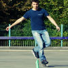 dimitar: Me, slalom skating (pic#450738)