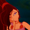 skye_writer: Cropped screencap of a very unamused Megara, from Disney's Hercules (1997). (oh gods)