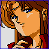 oneill: Phantasy Star IV - Alys Brangwin gives the viewer a knowing smile (Smile like you mean it.)