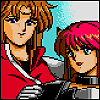 oneill: Phantasy Star IV - Alys Brangwin clasps Rika's shoulders in a big sisterly way (あずかるよ!)