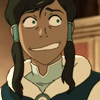 anatural: Korra smiles uncomfortably (Awkward: Errr.....)
