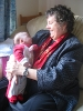 rmcf_walks: My mother holding my baby son (granny and baby)