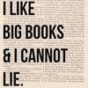 "strina: text only ""i like big books & i cannot lie"" (txt - big books)"