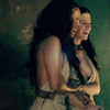 epiphanies: diona & naevia gossiping (sp: diona + naevia; giggling)