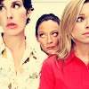 tree: caroline, sue and angela from green wing ([greenwing] teh ladies)