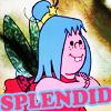 """fera_festiva: Mavis Cruet from Willo The Wisp cartoon with caption """"splendid"""" (awesomeface)"""