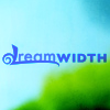 tree: text: dreamwidth, in blue on a blue and green background ([else] dreamwidth sheep)