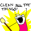 geekinthegreen: (clean all the things)