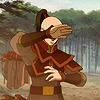 crossedwires: zuko hides his eyes (zuko - omg where are your pants??)