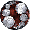 beccaelizabeth: The Master's ring, the Lazlabs symbol, recolored red. (Lazlabs)