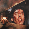 goodbyebird: Evil Dead: Ash is shocked by this. This meaning horrible evil powers trying to kill him obviously. (ⓕ hail to the king baby)