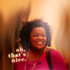 goodbyebird: Community: Shirley is smiling. Text: Oh, that's nice. (Community that's nice)