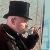 fish_echo: Jamie (mythbusters) dressed in a top-hat drinking tea (Fandom-Mythbusters-Jamie having tea)