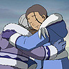 st_aurafina: Katara hugging her grandmother (Avatar: Katara hugs)