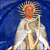 stranger: Orpheus as Sun, with Lyre (Orpheus)