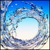 trascendenza: water in a spiraling motion. (-pretty spiral: water.)