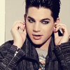 rosebee: Adam Lambert touches the gauges/plugs in his ears (Adam fiddles with earrings)