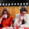 shinyjenni: Lynda and Spike drinking coffee (press gang)