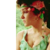 shinyjenni: Tegan in a 20s outift looking out of a window (tegan)