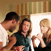 shinyjenni: Hardison and Parker square up; Eliot instructs them (ot3)