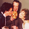 petra: Paul Gross smooching a skull (Geoffrey - Smooching Yorick)