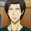 annotated_em: Screencap of Takao from KnB anime looking confused. (Takao - eh?!)