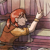 alias_sqbr: Dagna from Dragon Age reaching for a book (dagna)