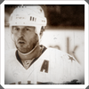 highlander_ii: h/s shot of Modano in sepia tones ([hockey] Mike Modano - sepia)