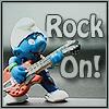 fan_eunice: (General-- rocker smurf)