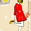shiba: garance doré for kate spade // <user user=heist> (( art ) doré)