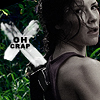 "very_improbable: Kate from LOST with the caption ""oh crap"" (oh crap)"