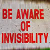 jesse_the_k: those words in red on white sign (be aware of invisibility)