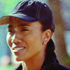 jesse_the_k: The Wire's Kima in a baseball cap squints with a serious grin (Kima squints meaningfully)