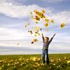 leek: (leaf toss)