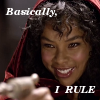 """xenacryst: Doctor Who - 5x02 The Beast Below - Liz 10: """"I'm the bloody Queen, mate. Basically, I rule."""" (DW: Basically I RULE)"""
