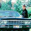 withdiamonds: (dean and his car)