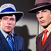 red_eft: Spock and kirk in 20's style hats and suits (sir you are employing a double negative)