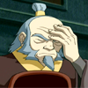 somariel: Iroh, from Avatar: The Last Airbender, facepalming (Iroh Facepalm)