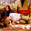 very_improbable: SportsNight: Jeremy asleep in Natalie's lap (I wanna sleep in your arms)