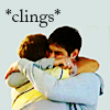 allyndra: John Paul McQueen and Kieron Hobbs hugging each other tightly (Clings)