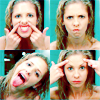 allyndra: Buffy Summers making weird faces in a mirror (Making Faces Buffy)