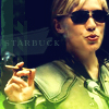 very_improbable: Starbuck smoking a cigar (starbuck)