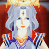 mommy: Arshtat; Suikoden V (Fluffy frilly and staring.)