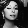 copracat: Diahann Caroll closeup black and white (diahann)