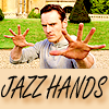 luninosity: (jazz hands)