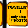 fay_e: Text: Travelling I only stop at exits (only stop at exits)