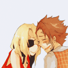 dubious: Jacuzzi and Nice laughing. (Laughing together [Baccano!])