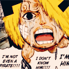 dubious: He's not Sanji. (Leave Duval alone [One Piece])